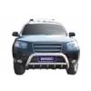 Защита переднего бампера (кенгурятник) Hyundai Santa Fe 2006- (Winbo, A130314)