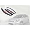 Дефлекторы окон Hyundai Accent 2010- (AUTOCLOVER, A126)
