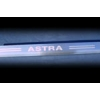 Накладки на пороги Opel Astra G компл. 4 шт. (Omsa Prime, 520198091)