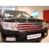 Дефлектор капота Toyota Land Cruiser 200 2007- (EGR, 39231)