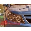Реснички для Opel Astra H (AD-Tuning, OAH-FLC)