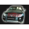 Накладка переднего бампера для Mitsubishi Pajero Wagon 2007- (AD-Tuning, MPW-FS-01)