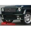 Юбка переднего бампера для Mercedes G-class (AD-Tuning, MG-FS01)