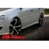 """Аэродинамические пороги """"Maxton-Style"""" для Volkswagen Passat 2006- (AD-Tuning, VWPB6-FT02)"""
