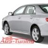 Аэродинамические пороги для Toyota Corolla 2006- (AD-Tuning, TC06-FT02)