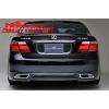 """Юбка заднего бампера """"WALD"""" для Lexus LS 460  2007- (AD-Tuning, LS460-RS01)"""
