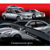 Дефлекторы окон для Chevrolet Aveo HB 2002+ (AUTOCLOVER, A068)
