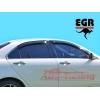 Дефлектор окон Honda Accord 2003- (EGR, 92434008B)