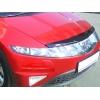 Дефлектор капота (с логотипом) Honda Civic hb 2006- (EGR, SG6530DSL)