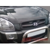 Дефлектор капота (с логотипом) Hyundai Tucson 2004- (EGR, 314030DSL)