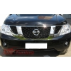 Дефлектор капота (с логотипом) Nissan Patrol 2010- (EGR, 027221L)