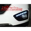 Дневные ходовые огни (DRL, с ПТФ) для Hyundai IX35 2010+ (LONGDING, DRL-HD-02)