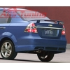 Юбка заднего бампера для Chevrolet Aveo 2004- (AD-Tuning, AVO-RS03)