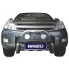 Защита переднего бампера (кенгурятник) для Great Wall Hover (Winbo, A240651)
