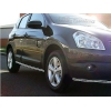 Защита кузовного порога для Nissan Qashqai 2006- (Winbo, B111185)