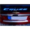 Хром накладка с подсветкой LED над номерным знаком Chevrolet Cruze (JMT, CHCR.RM01)