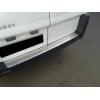 НАКЛАДКА С ЗАГИБОМ НА ЗАДНИЙ БАМПЕР PEUGEOT EXPERT II/CITROEN JUMPY II/FIAT SCUDO II 2007+ (ALU-FROST, 25-3500)