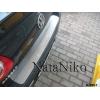 Накладка на задний бампер для Volkswagen Passat (B6) SD 2006-2010 (NataNiko, B-VW17)
