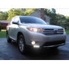 ДНЕВНЫЕ ХОДОВЫЕ ОГНИ DRL ДЛЯ TOYOTA HIGHLANDER 2010- (LONGDING, TOY.HIGH12.DRLCHR)