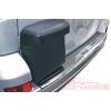 Накладка на задний бампер для Toyota LC Prado 120 2003- (Winbo, G091616)