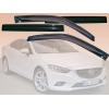 Дефлекторы окон Mazda 6 sd 2012- (EGR, 92450031B)