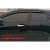 Дефлекторы боковых окон (темные) для Honda Civic хэтчбек 2012- (EGR, 92434025B)