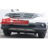Накладка на передний бампер для Honda CRV 2012- (Kindle, HM-H-221)