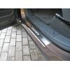 Накладки на внутренние пороги Volkswagen Touager 2010+ (Nata-Niko, P-VW31)