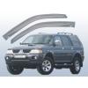 Дефлекторы окон Mitsubishi Pajero 2000- (EGR, 91260022)