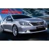Дневные ходовые огни DRL в штатное место (хром) для Toyota Camry V50 2011-2014 (LONGDING, DRL-TY-11)