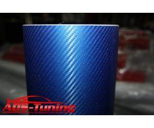 Пленка карбоновая (синяя), ширина 75 см (АРА, AUTOPL75.BL)