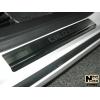 Накладки на внутренние пороги для Chevrolet Cruze (4/5D) 2008+ (NataNiko, P-CH05)