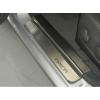 Накладки на внутренние пороги для Chevrolet Epica 2006+ (NataNiko, P-CH06)