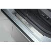 Накладки на внутренние пороги для Chevrolet Malibu 2012+ (NataNiko, P-CH16)