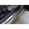 Накладки на внутренние пороги для Alfa Romeo Mito 2008+ (Nata-Niko, P-AR05)