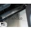 Накладки на внутренние пороги для Chery Kimo 2008+ (Nata-Niko, P-CR04)