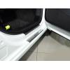 Накладки на внутренние пороги для Citroen Berlingo II 2008+ (Nata-Niko, P-CI02)