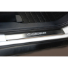 Накладки на внутренние пороги для Citroen C-Crosser 2007+ (Nata-Niko, P-CI16)