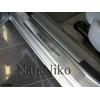 Накладки на внутренние пороги для Dodge Avenger II 2007+ (Nata-Niko, P-DO01)