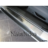 Накладки на внутренние пороги для Dodge Nitro 2007+ (Nata-Niko, P-DO04)