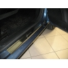 Накладки на внутренние пороги для Fiat Grande Punto (3D) 2005-2009 (Nata-Niko, P-FI12)