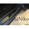 Накладки на внутренние пороги для Fiat Grande Punto/Punto Evo (5D) 2005+ (Nata-Niko, P-FI13)