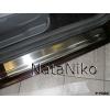 Накладки на внутренние пороги для Ford C-Max II 2010+ (Nata-Niko, P-FO02)