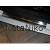 Накладки на внутренние пороги для Ford Fiesta VII (5D) 2008+ (Nata-Niko, P-FO05)