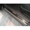 Накладки на внутренние пороги для Ford Mondeo II/III 1996-2007 (Nata-Niko, P-FO19)