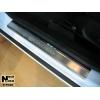 Накладки на внутренние пороги для Ford Mondeo IV 2007-2014 (Nata-Niko, P-FO20)