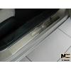 Накладки на внутренние пороги для Honda Accord IX 2013+ (Nata-Niko, P-HO25)