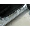 Накладки на внутренние пороги для Honda Civic VIII (4D) 2006-2011 (Nata-Niko, P-HO09)