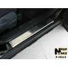 Накладки на внутренние пороги для Honda CR-V III 2007-2013 (Nata-Niko, P-HO15)