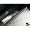 Накладки на внутренние пороги для Honda Crosstour 2012+ (Nata-Niko, P-HO23)